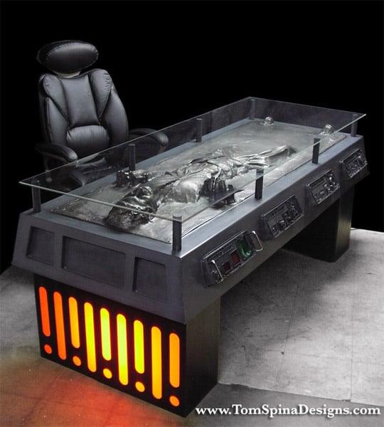 Han Solo Carbonite Desk