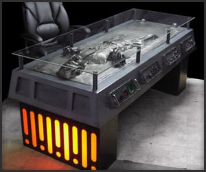 Han Solo Carbonite Desk