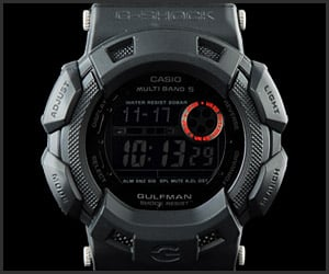 G-Shock Gulfman Black