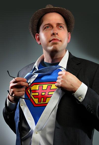 Superuserman T-shirt