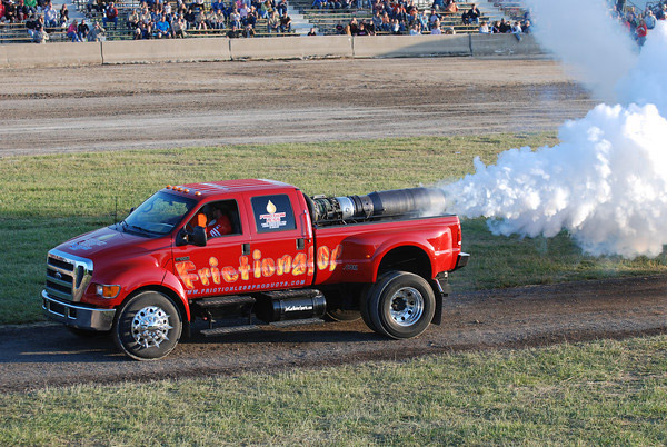 The Frictionator Jet Truck
