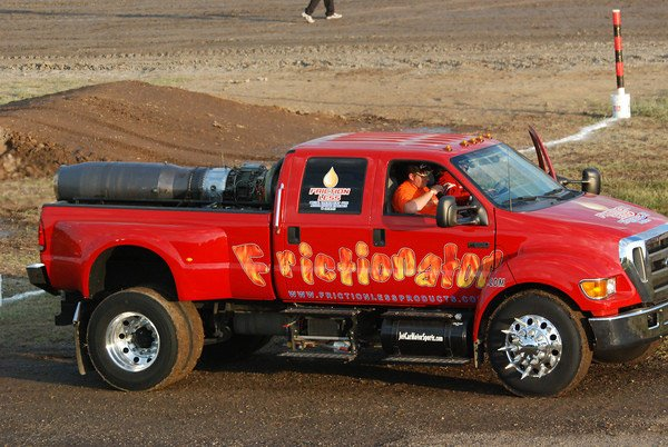 The Frictionator Jet Truck