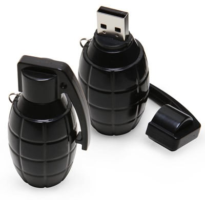 Grenade Flash Drives