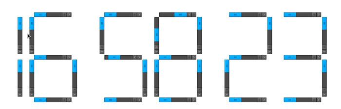 Website: Scroll Clock