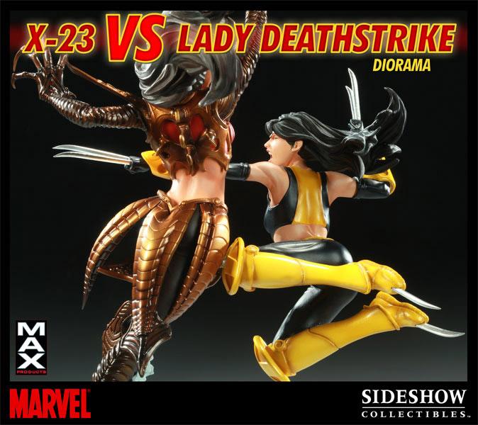X-23 vs. Deathstrike
