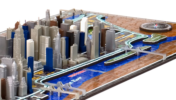 4-D New York Puzzle