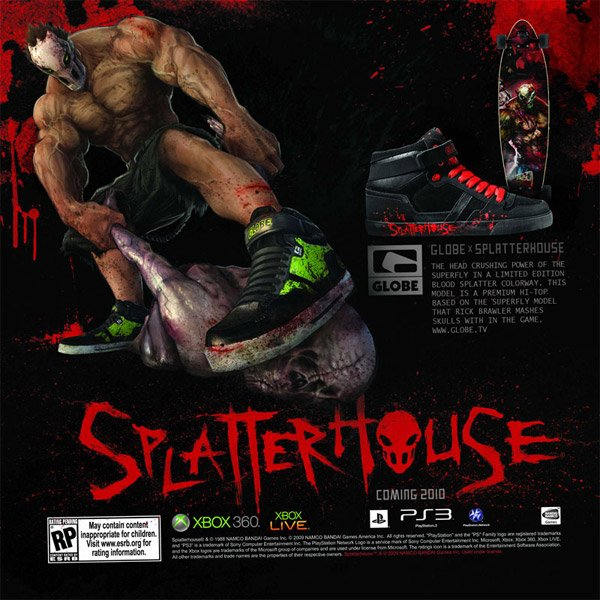 Globe Splatterhouse Shoes