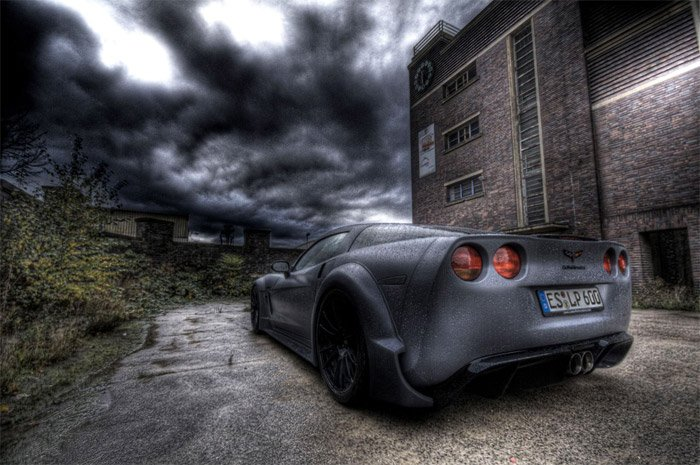 C6 BlackForceOne Corvette