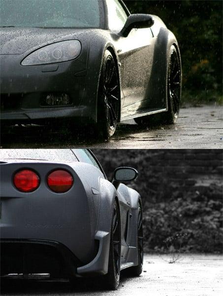 C6 BlackForceOne Corvette
