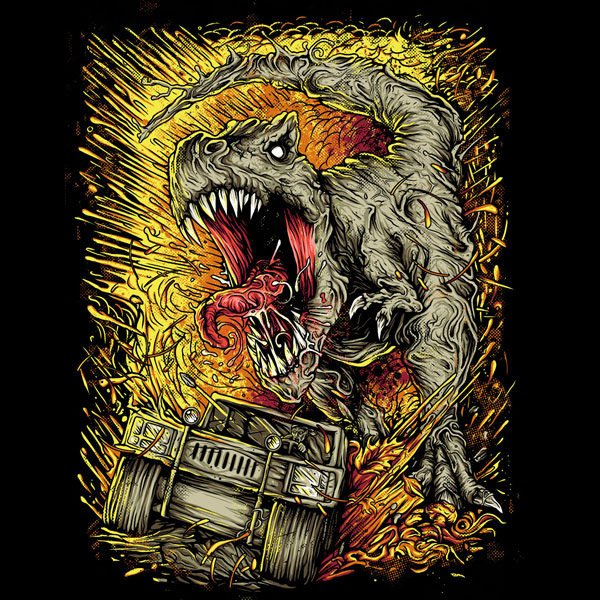 Shred T-Rex T-shirt
