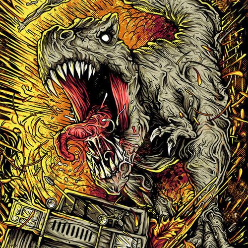Shred T-Rex T-shirt