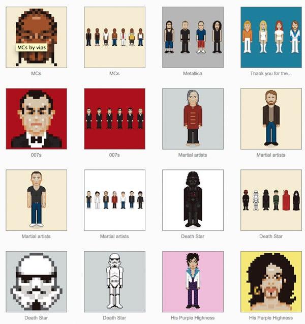 T-shirts: Very Important Pixels
