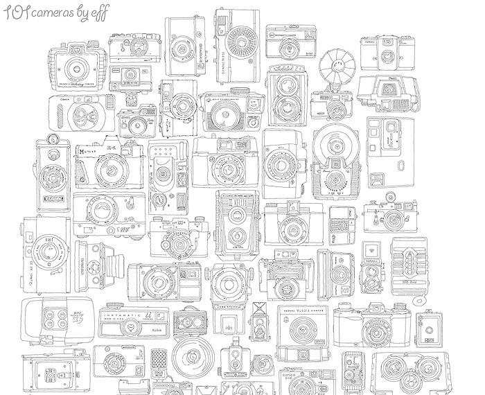 101 Cameras T-shirt