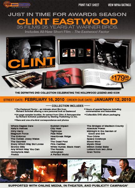 Clint Eastwood: 35 Films