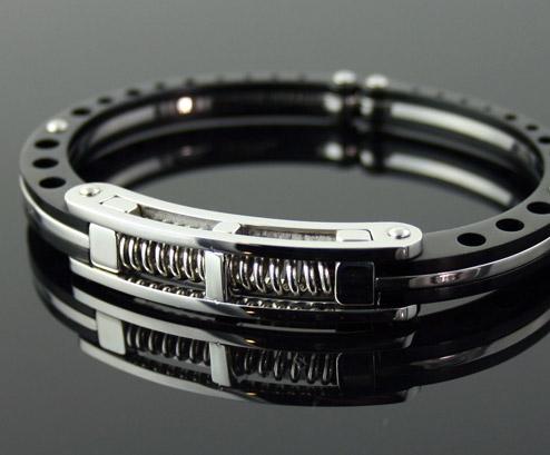 Cuffed Titanium Bracelet