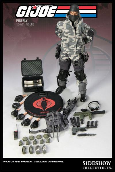 12″ G.I. Joe Firefly Figure