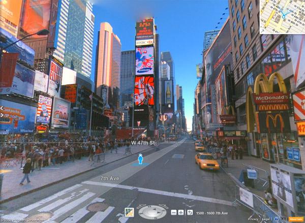 Bing Maps x Photosynth