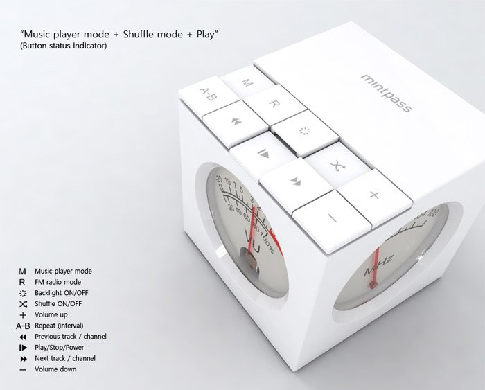 Concept: Mint Cube