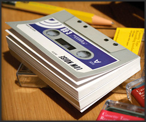 Cassette Tape Notebook