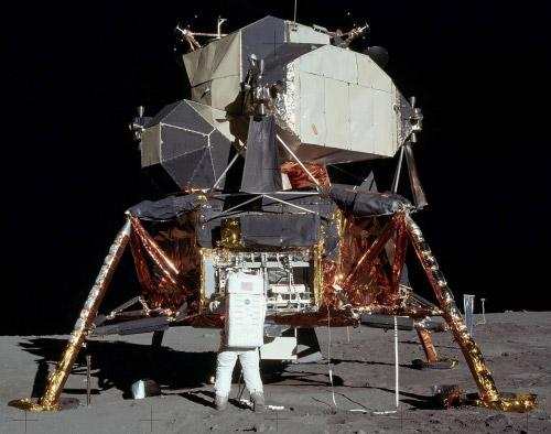 Full Scale Apollo Lander