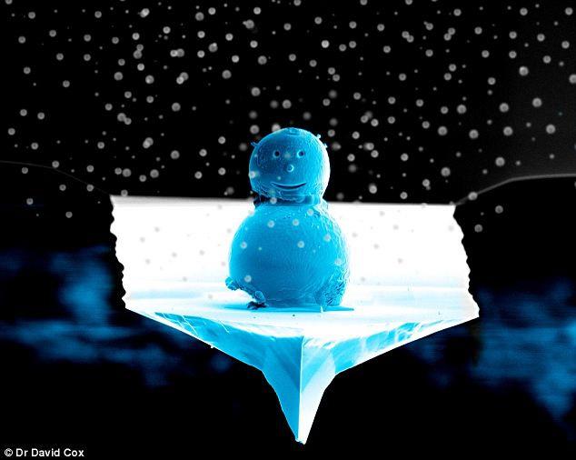 0.01mm Snowman