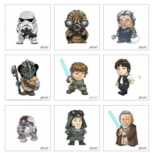 Super Chibi Star Wars