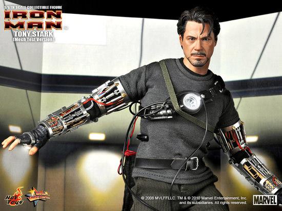 Mech Test Tony Stark