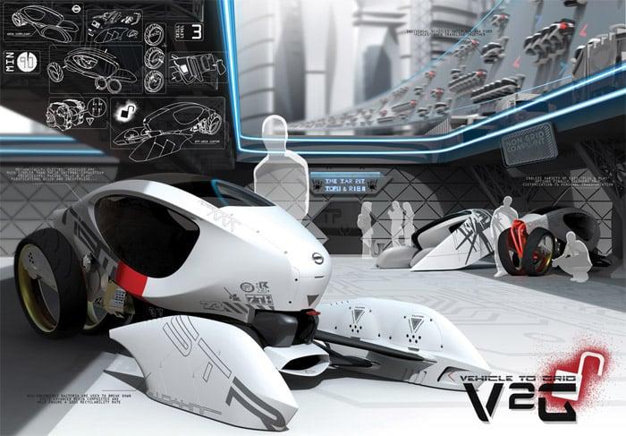 Concept: Nissan V2G