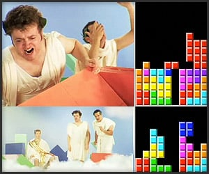 Funny: God of Tetris