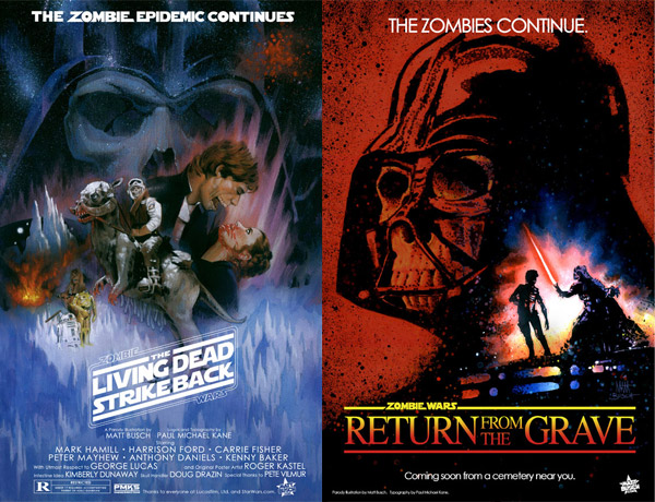 Zombie Wars Posters