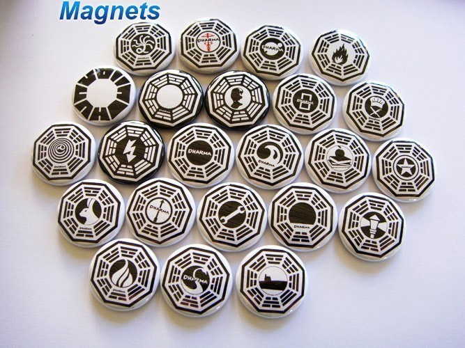 LOST Magnets Pack
