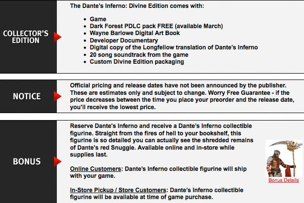 Dante's Inferno: Divine