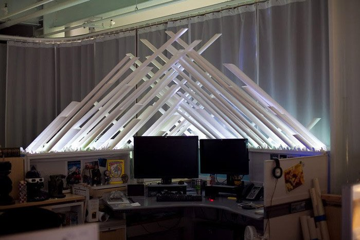 Fortress of Solitude Desk