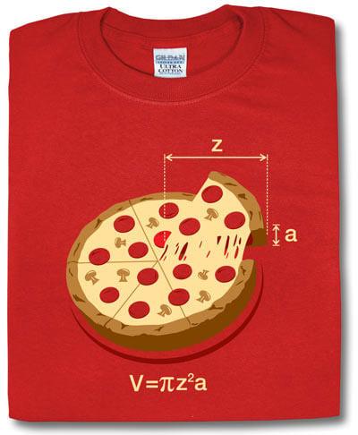 pi*z*z*a T-shirt