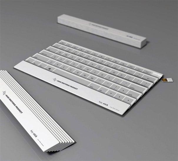 Concept: Keystick Keyboard