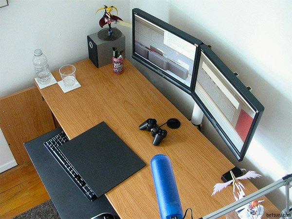 DIY: Dual Monitor Stand