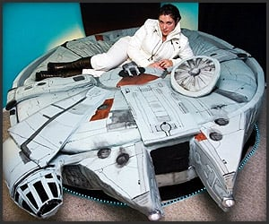 DIY: Millenium Falcon Bed