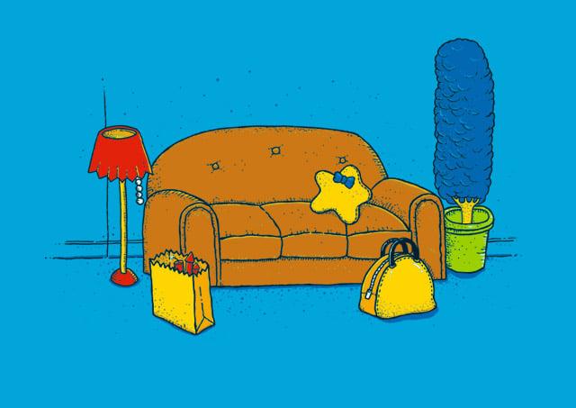 Springfield Still Life Tee