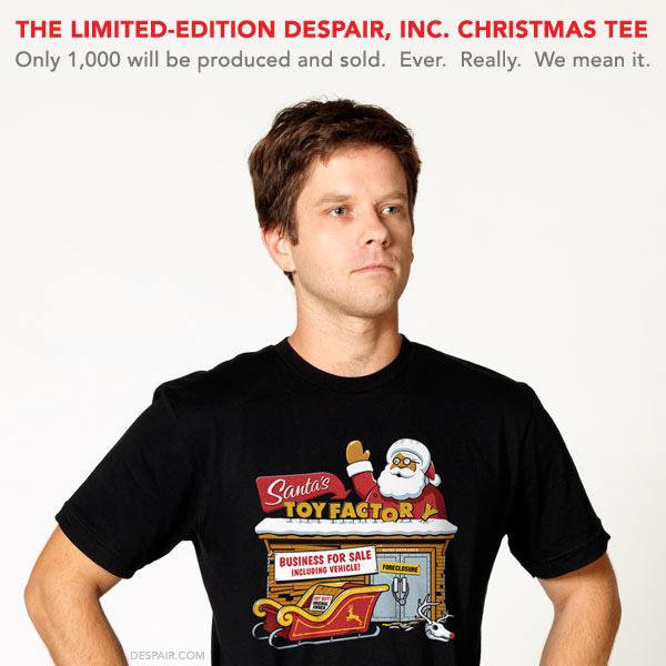 Santa's Factory T-shirt