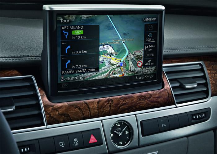 Audi A8 x Google Earth