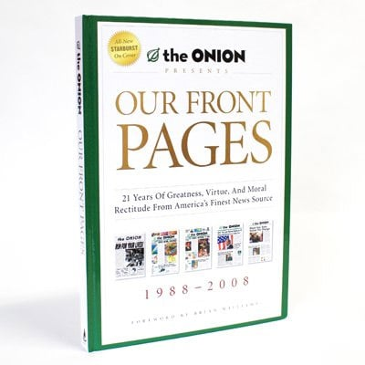 Book: Our Front Pages