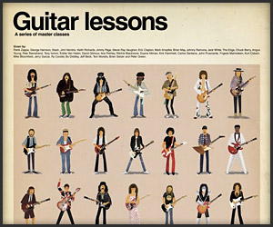 Poster: Guitar Lessons