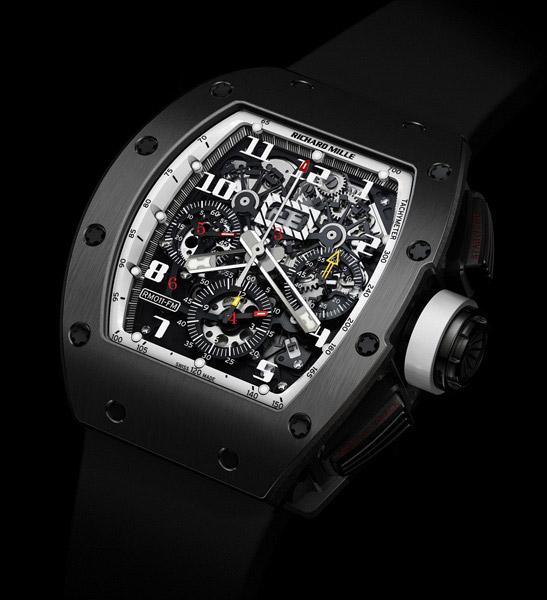 RM011 Americas White Watch