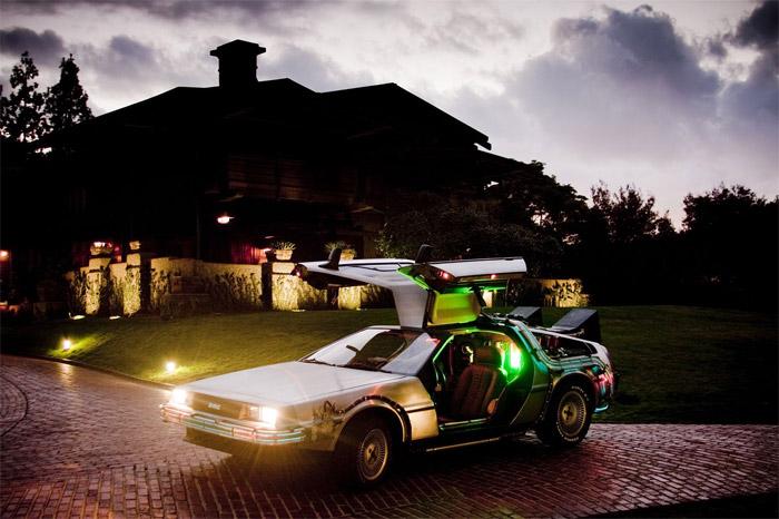 BttF DeLorean Replica