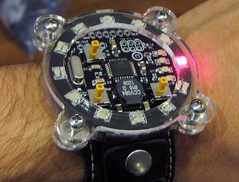 DIY: Makerbot Watch