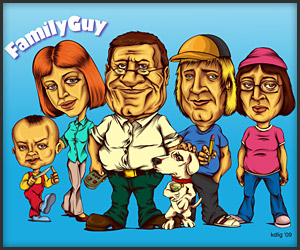Semi-Realistic Family Guy