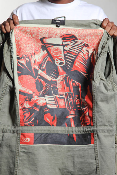 Make Art Not War Jacket