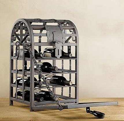 Metal Wine Cage