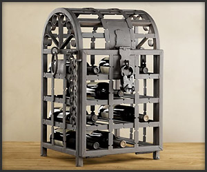 Metal Wine Cage