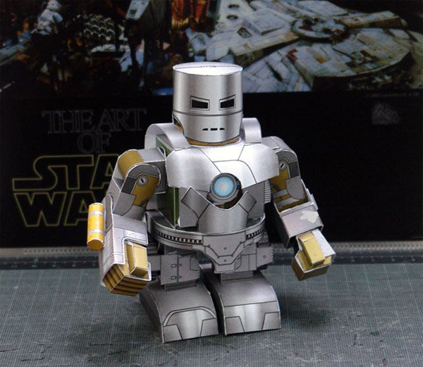 DIY: Iron Man Papercraft